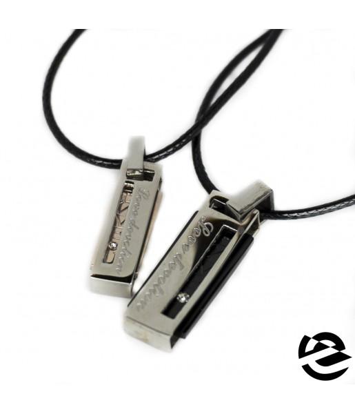 Кулоны для влюбленных Spikes NL-7029-ST фото 1