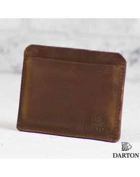 Мужское портмоне для автодокументов DARTON AVTO  Сognac фото 1