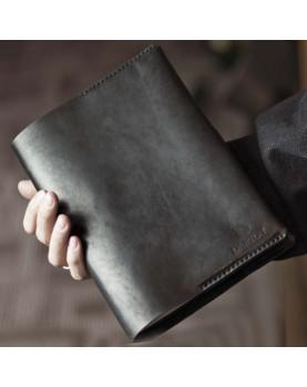 Ежедневник со съемной обложкой из натуральной кожи DARTON PLANNER BOOK Black