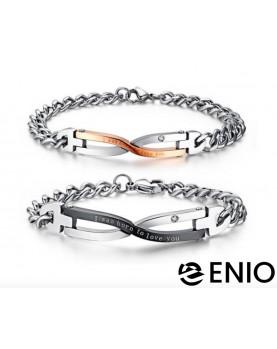 Двойные браслеты для влюбленных NL-6074-4T фото