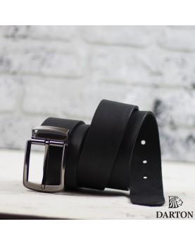 Мужской ремень из натуральной кожи DARTON Classic фото 3