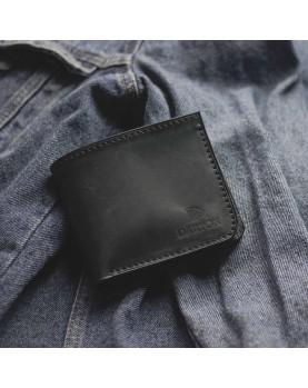 Мужской кожаный бумажник DARTON MR. BIFOLD Navy фото 3