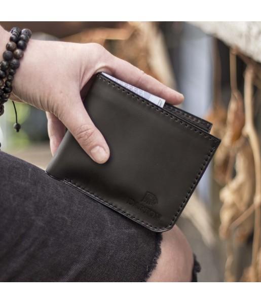 d76b64912b13 Мужской бумажник из натуральной кожи DARTON MR.BIFOLD Black Onyx ...