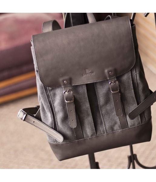 Мужской кожаный рюкзак DARTON  Western Black Onyx фото 1