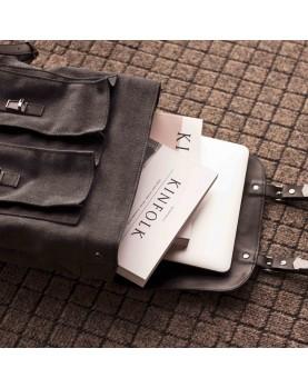 Мужской кожаный рюкзак DARTON  Western Black Onyx фото 4