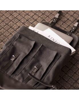 Мужской кожаный рюкзак DARTON  Western Black Onyx фото 6