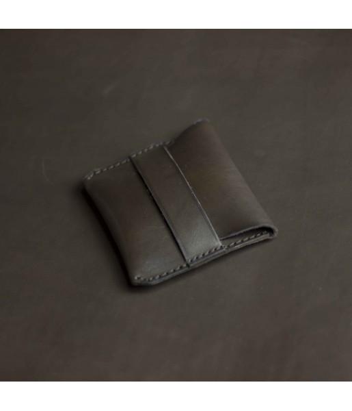 Мужской мини кошелек из кожи DARTON POCKET DarkChocolate фото 4