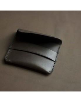 Мужской мини кошелек из кожи DARTON POCKET DarkChocolate фото 5