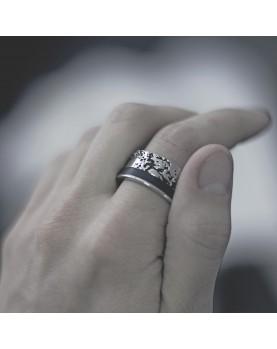 Стальное кольцо Man Power RSS652 фото 2