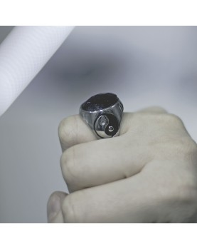 Перстень Инь-Ян Respect Steel RSS7041