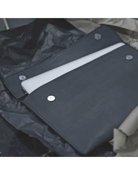 Кожаная Папка для бумаг и ноутбука DARTON BUSINESS Black фото 3