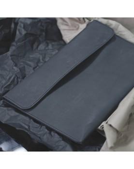 Кожаная Папка для бумаг и ноутбука DARTON BUSINESS Black фото 2