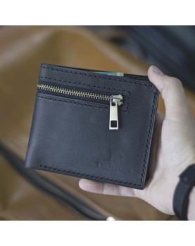 Мужское портмоне без застежки Darton URBAN Black Carbon фото 1