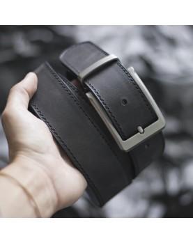 Мужской Набор Ремень и Портмоне CLASSIC Black Carbon Фото 5