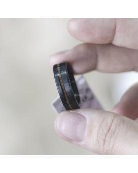 Черное Матовое кольцо Spikes R-TU-7061 Фото 1