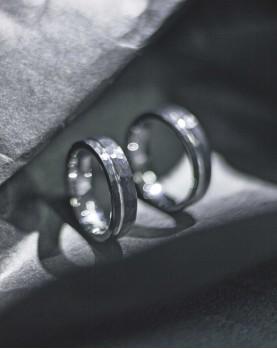 Необычные Парные Обручальные кольца R-TU-7066 в Алматы Фото 1