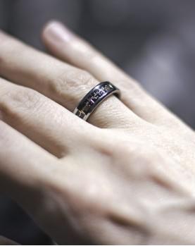Вольфрамовое кольцо Пульс в Алматы Spikes R-TU1904M Фото 1