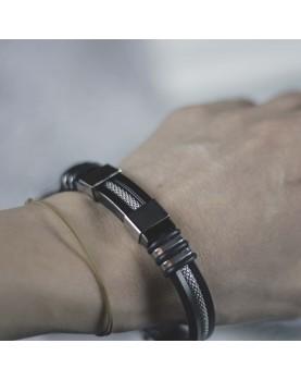 Каучуковый браслет MR.SMITH MS-01124-RBS фото 3