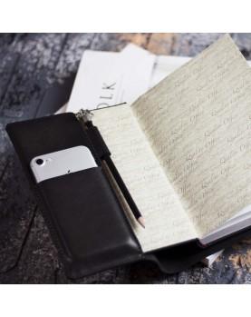 Ежедневник в кожаной обложке DARTON PLANNER BOOK Black Фото 2