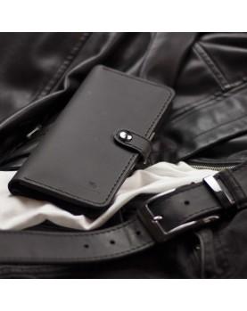 Мужской подарочный набор ELEGANCE PRO Ремень 3,5/120 sm и Longer Black