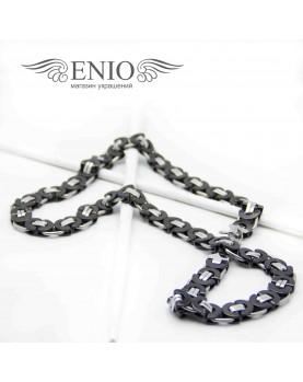 Массивная цепь на шею Fashion Steel FS-015 фото 1