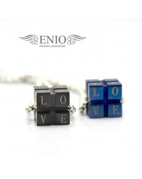 Кулоны для влюбленных Fashion Steel FS-98706  фото 1