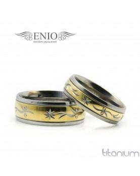 Парные кольца SPIKES 010237 Фото 1