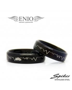 Парные кольца Spikes 010030