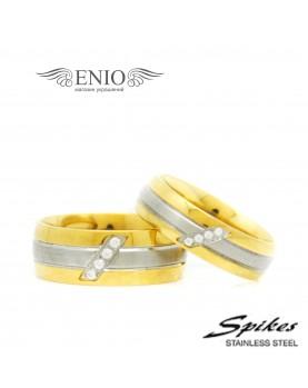 Парные кольца Spikes R-S1532 Фото 1