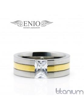 Титановое кольцо SPIKES R-TI-3105-M фото 1