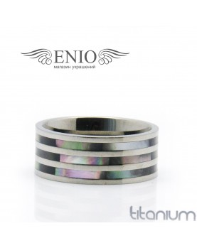 Титановое кольцо SPIKES R-TI-0571 фото 1