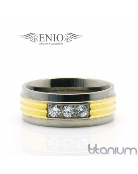 Титановое кольцо SPIKES R-TM-3130-M фото 1