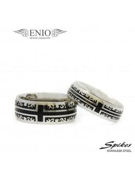 Парные кольца Spikes 010211