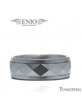 Вольфрамовое кольцо Respect Steel 010115 фото 1