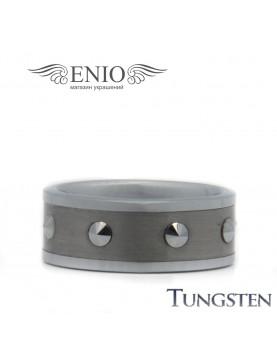 Вольфрамовое кольцо с шипами 010108 фото 1
