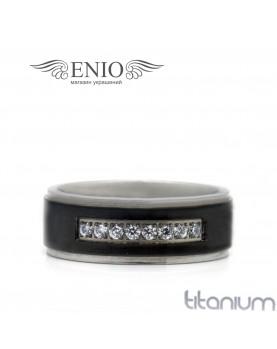 Титановое кольцо SPIKES 010177 фото 1