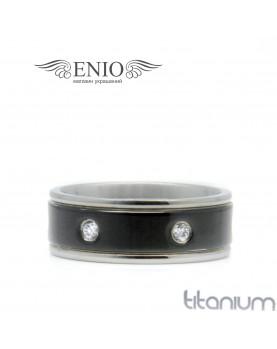Титановое кольцо SPIKES 010171 фото 1