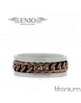 Титановое кольцо SPIKES 010162 фото 1