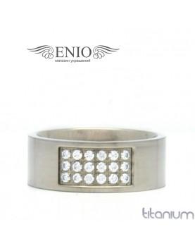 Титановое кольцо Spikes E-TI-3267 фото 1