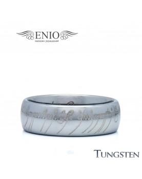 Вольфрамовое кольцо Всевластия R-TU-130-M фото 1