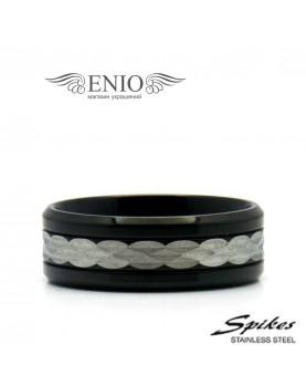 Стальное кольцо SPIKES 010024 фото 1