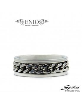 Стальное кольцо SPIKES 010209 фото 1