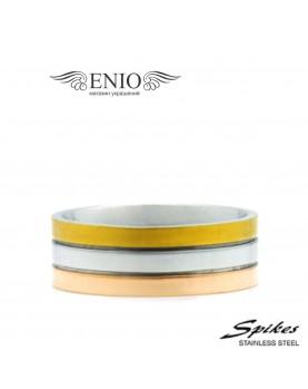 Стальное кольцо Spikes 010219 фото 1