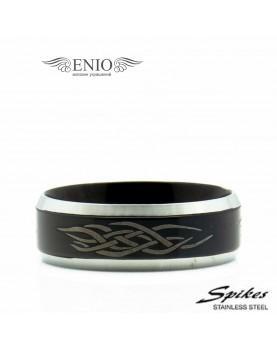 Стальное кольцо SPIKES 010201 фото 1