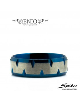 Стальное кольцо SPIKES 010276 фото 1