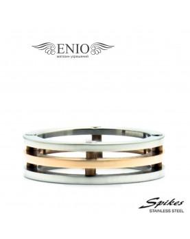 Стальное кольцо SPIKES 010242 фото 1