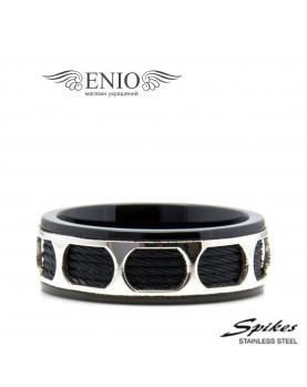 Стальное кольцо SPIKES 010071 фото 1