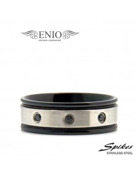 Стальное кольцо Spikes RM-3940 фото 1