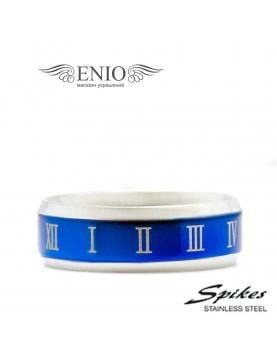 Стальное кольцо SPIKES 010198 фото 1