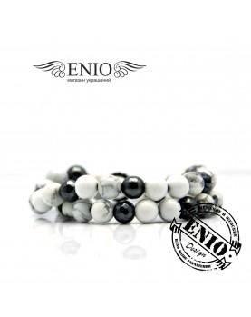 Браслет из натуральных камней ENIO DESIGN № ED-0249-SH фото 1